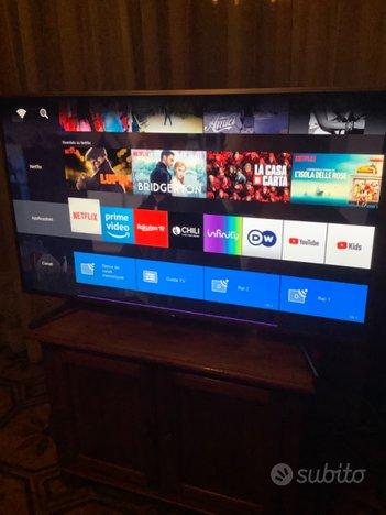 Tv lcd Sony bravia 55 pollici 4K modello xg7077