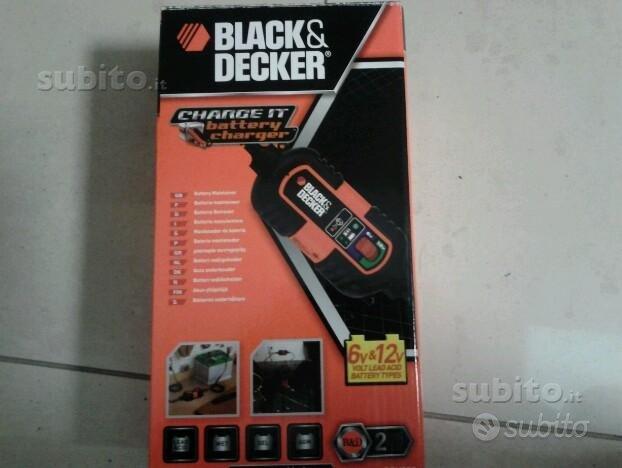 Carica batteria e mantenitore black & decker