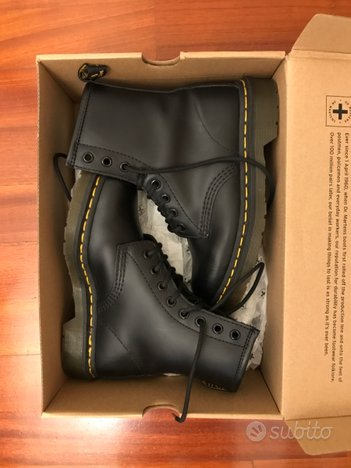 Dr. Martens 1460 smooth neri n. 36