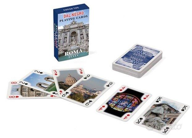 Mini Poker Dal Negro Blu Souvenir Roma