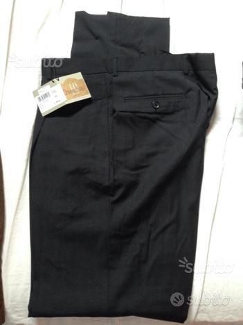 Pantalone uomo NUOVO tag 52 fresco lana