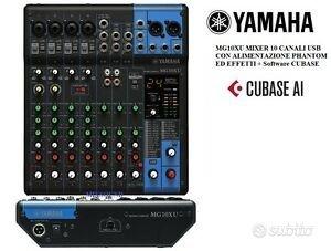 Mixer Analogico USB Yamaha MG10XU