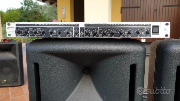 Compressore Behringer composer mdx 2200