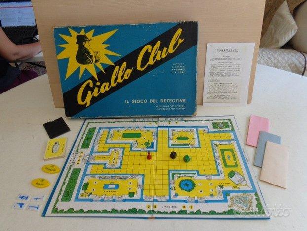 Giallo Club 1959 - Ed. Clementoni - 1° Cluedo