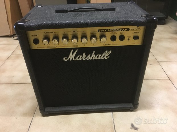 Amplificatore valvolare marshall vs15r nuovo