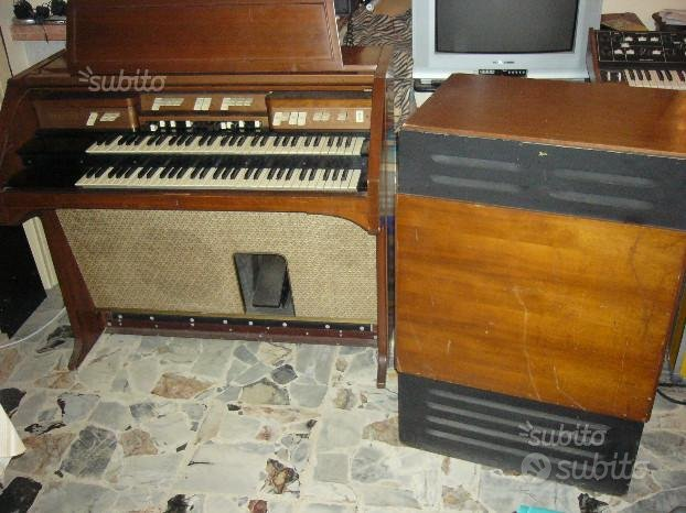 Hammond E262 organo elettromagnetico,leslie