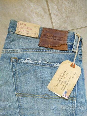 Jeans uomo RL modello Slim 34 x 34