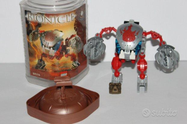 Robot lego 8574 rosso con scatola senza istruzioni