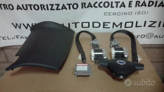 Kit air-bag Fiat Sedici del 2008 (Stemma blu)