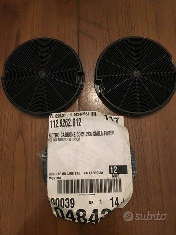 4 Filtri carbone attivo nuovi per cappa Faber