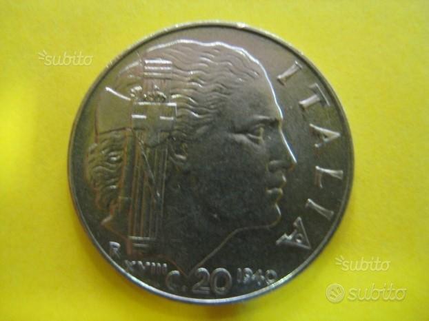 20 Centesimi 1940 Vitt. Emanuele III° ( Rif. 94 )