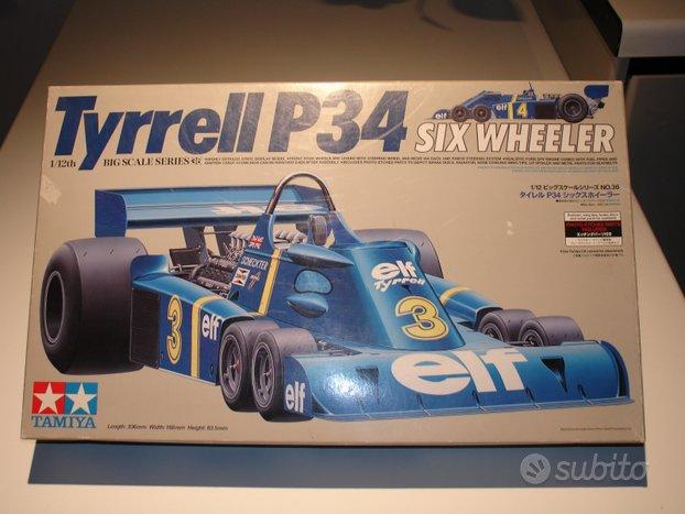 Tyrrell Tamiya 6 ruote 1/12 12036