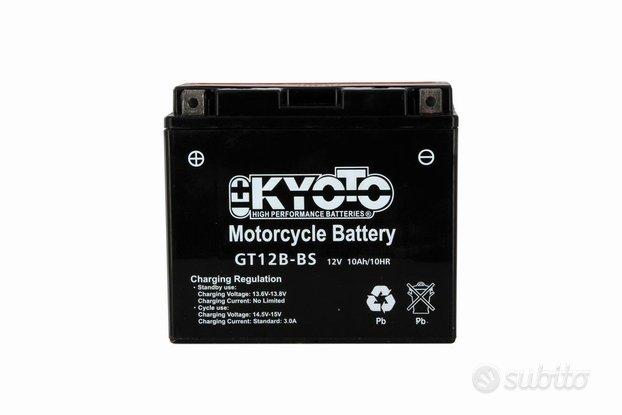 Batteria kyoto Gt12b-bs 12v 10ah AGM per triumph