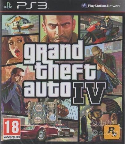 Grand Theft Auto IV - GTA IV per Play Station 3