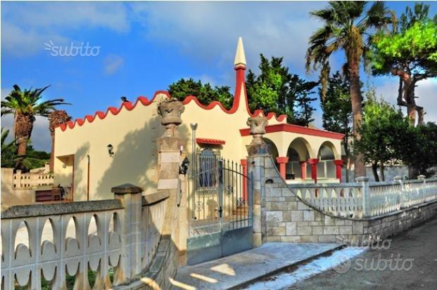 Villa al mare,85 m2,900 m2 giardino,2 camere