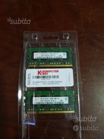RAM sodimm 2x 1GB