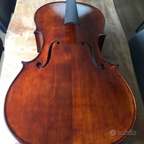 Violoncello di liuteria 4/4 modello Stradivari