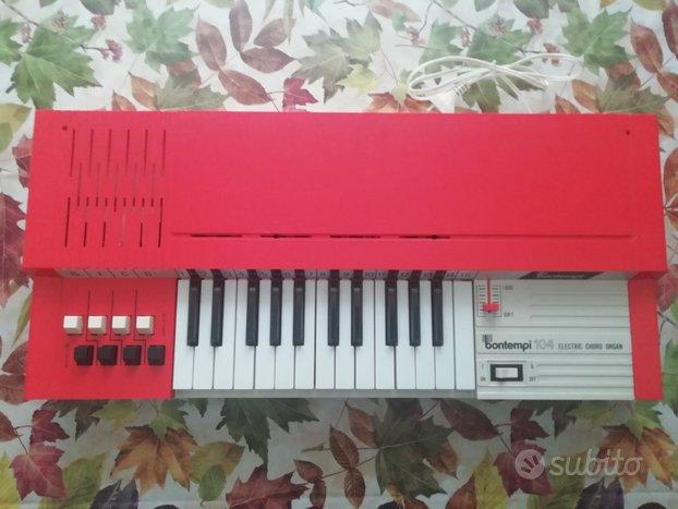 Organo elettrico vintage Bontempi 104