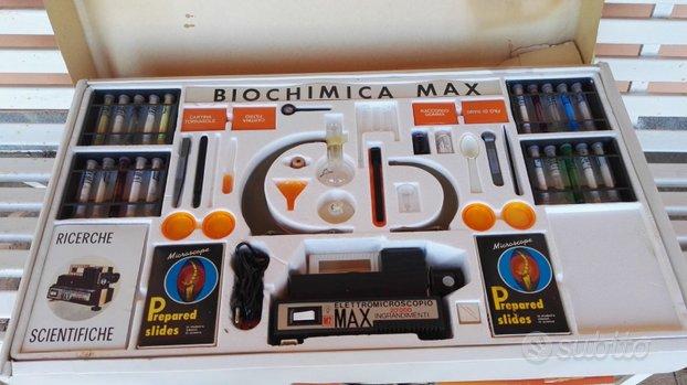 Biochimica max anni 70 gioco per bambini