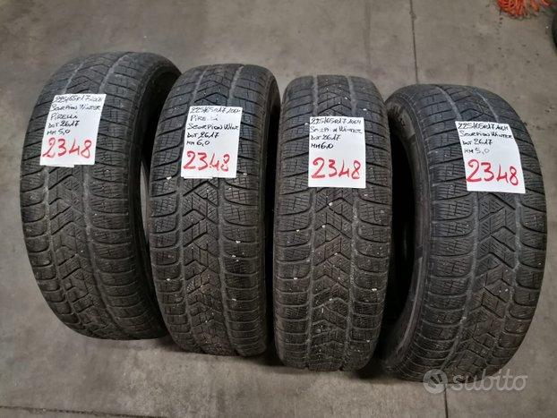 Rif.2348 pneumatici invernali usati 225/65 r17 pir