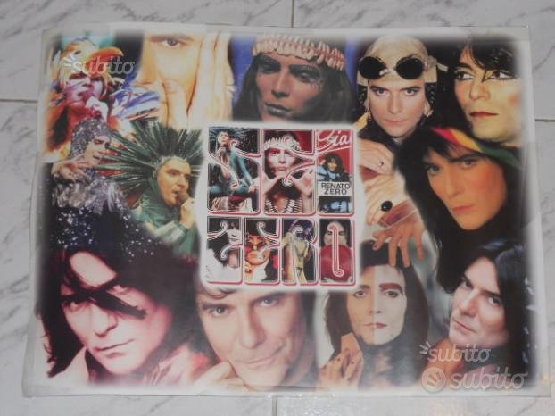 Poster renato zero 46x34