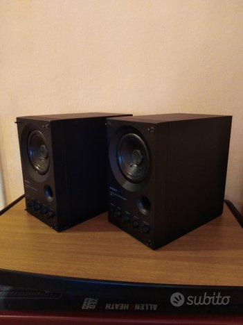 Casse monitor amplificate Sony CONSEGNA