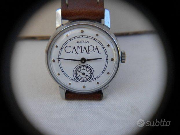 Orologio vintage Russo anni 60 Pobeda a carica