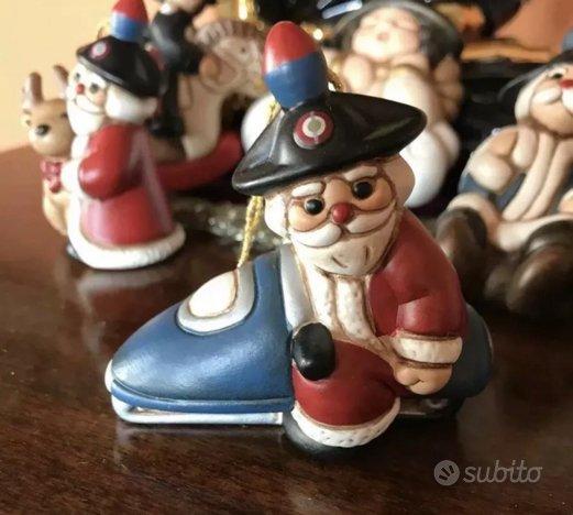 Babbo Natale Originale.Thun Originale Carabiniere Babbo Natale Motoslitta Arredamento E