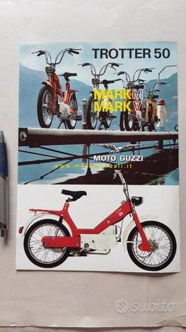 MOTO GUZZI Trotter 50 Mark M-V 1971 depliant