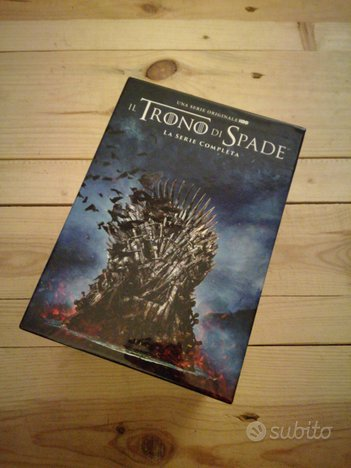 Dvd Cofanetto Games of Thrones trono di spade