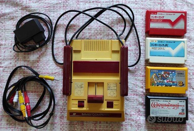 Nintendo Famicom (NES) con giochi