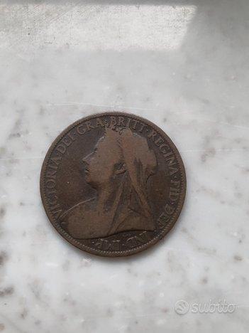 Moneta One Penny 1900