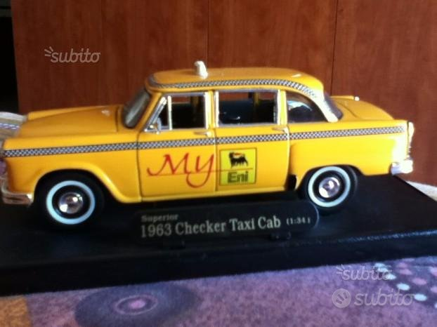 Checker Taxi Cab Yellow-1963-Scala 1/34