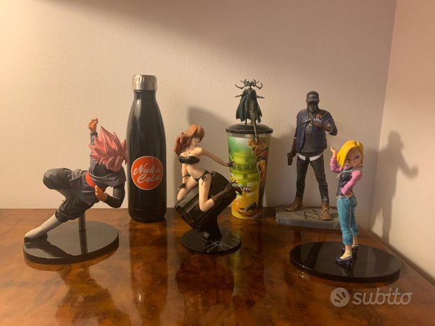 ACTION FIGURE DRAGONBALL e LUPIN