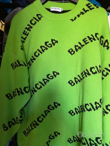 Felpa Bale over size 2021 verde shock