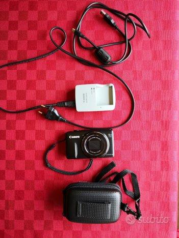 """Fotocamera Canon """"SX600 HS"""" + lettore mp3 Sony"""