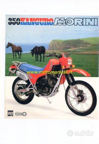 MOTO MORINI Kanguro 350 XE 1985 depliant originale