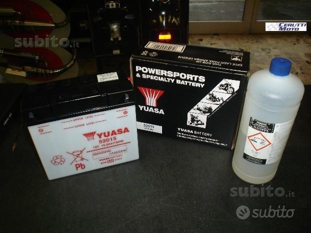 Batteria moto yuasa 52015 12 volt - 25 ah