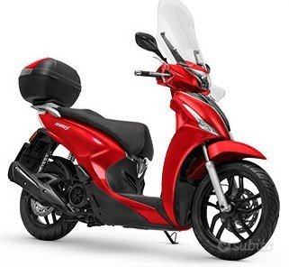 Kymco People 150i rosso