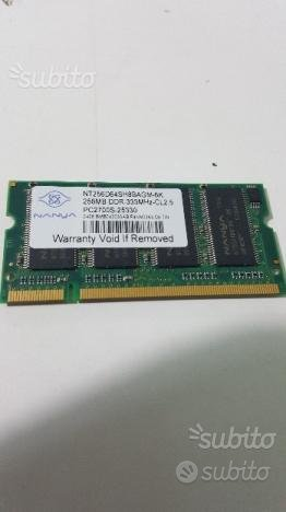 RAM per Notebook DDR2-333 Mhz