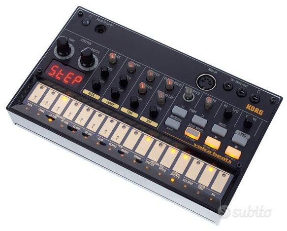 Korg volca beats drum machine analogica