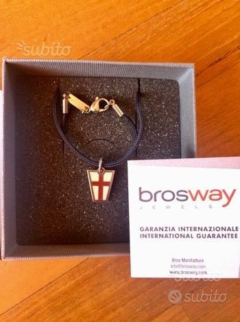 Brosway collana con ciondolo Flag