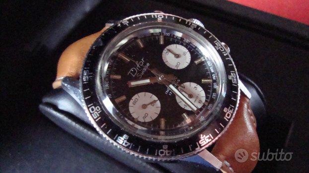 Difor crono suisse acciaio rarissimo landeron