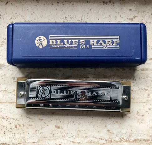 HOHNER BLUES HARP in Do