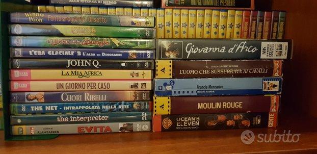 DVD vari e VHS Magic English