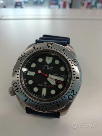 Citizen diver 200 Mt titanio automatico