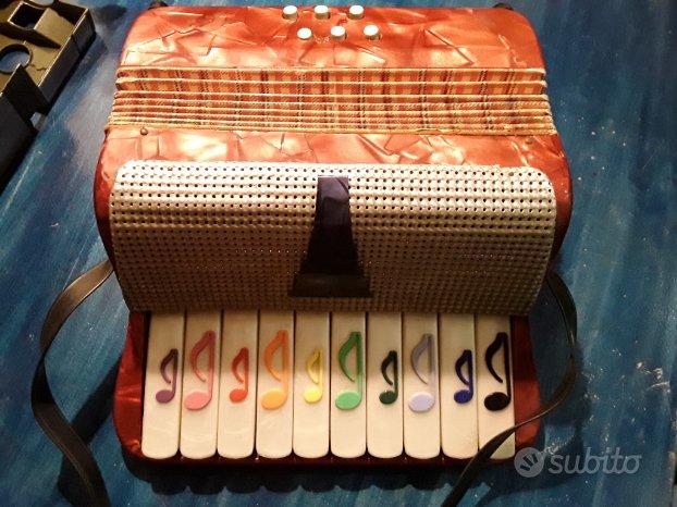 Fisarmonica giocattolo Bontempi anni 60
