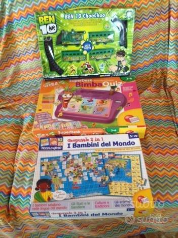 Tre Giochi per bimbi