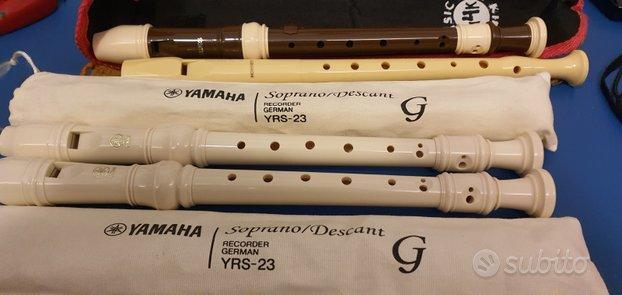 Flauti dolci come nuovi (yamahahoner, aulos)