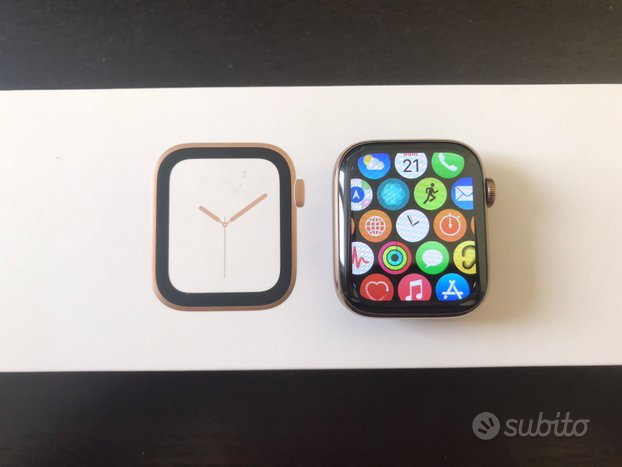 Apple Watch Serie 4 GPS + Cell. 44mm + oro Milanes